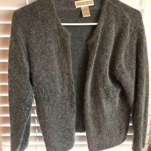 Grey Angora Sweater